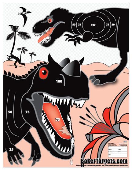 dinosaur target