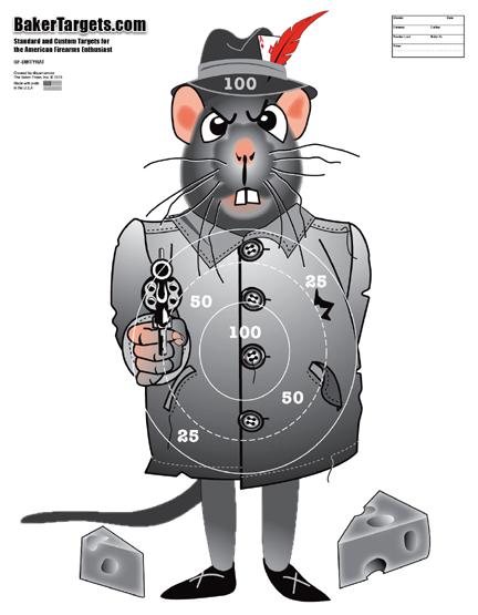 dirty rat target