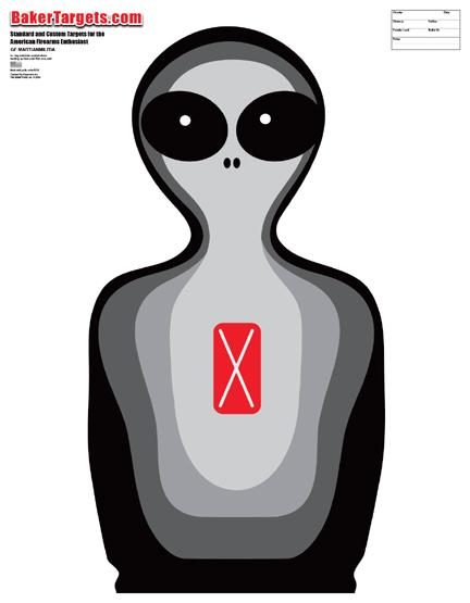 martian militia target