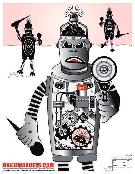 robot target