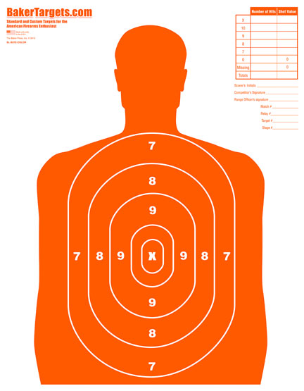 gun range targets