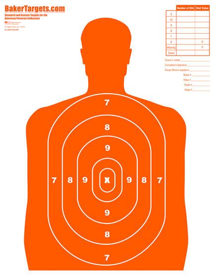 b27e target-orange