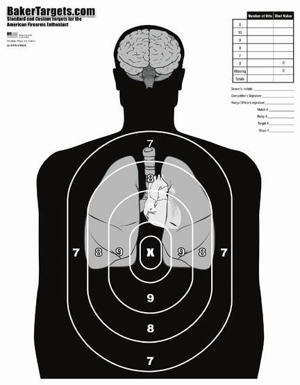 b27e target-w/ vital organs