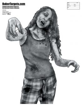 evil emmy zombie target