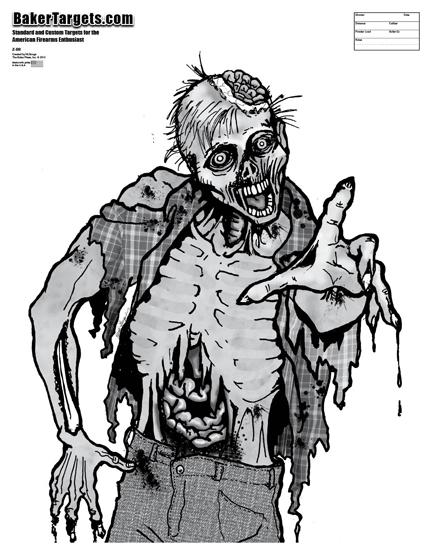 brainy brian zombie target