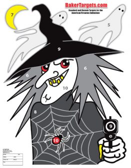 witch target