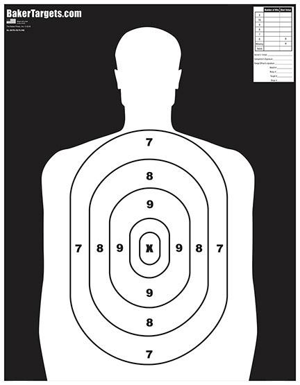B27E Target-Outline