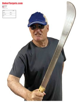 machete threat