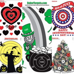 Holiday Shooting Targets
